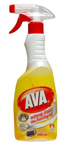 Ava octový čistič na kuchyně 500ml MR