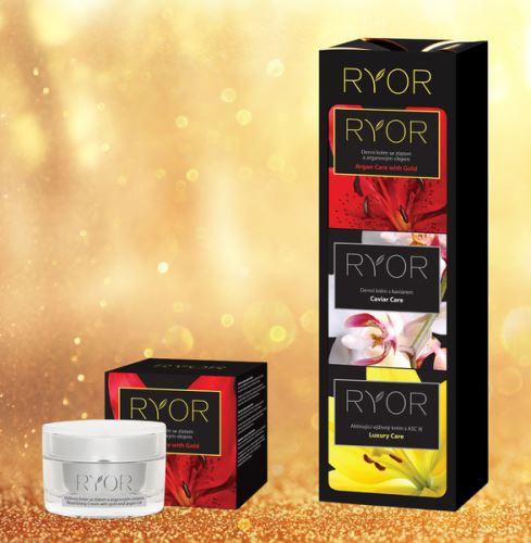 RYOR Výživný krém se zlatem a arganovým olejem 50ml kelímek