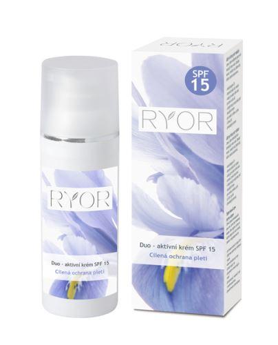 RYOR Duo-aktivní krém SPF 15 50ml dávkovač RYOR