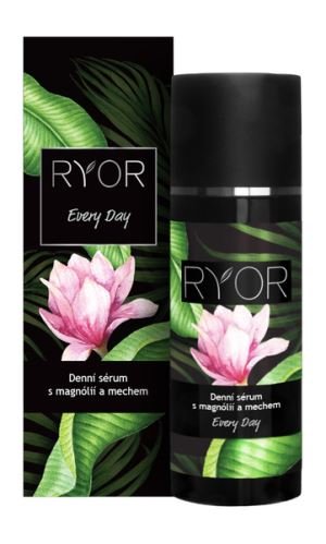 RYOR Denní sérum s magnolii a mechem 50 ml