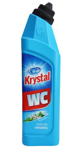 Krystal WC modrý 750ml