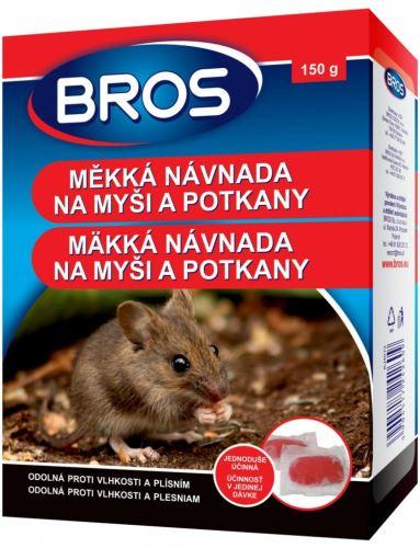 Bros měkká návnada na myši,krysy a potkany 150g (1639)