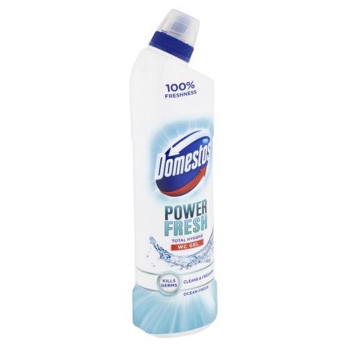 Domestos WC gel Total hygiene Oceán fresh 700ml