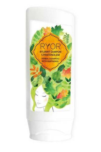 RYOR Bylinný šampon s panthenolem 200ml tuba