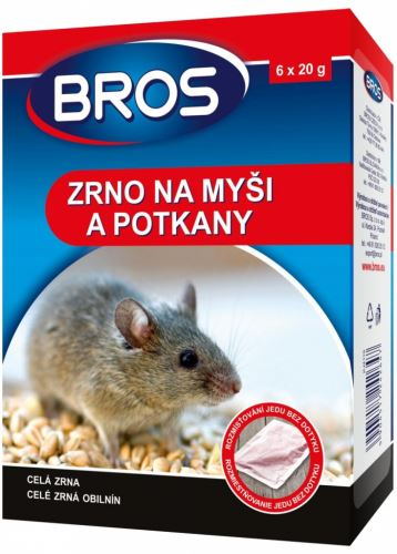 Bros zrno na myši,krysy a potkany 120g (1732)