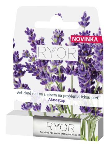RYOR Antiakné roll-on s irisem na problematickou pleť 5ml