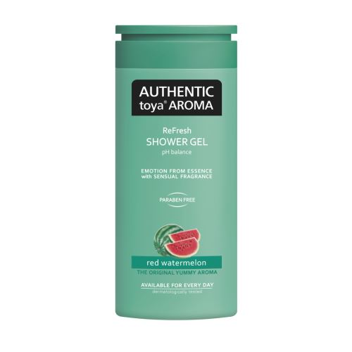 AUTHENTIC toya AROMA – sprchový gel red watermelon 400ml