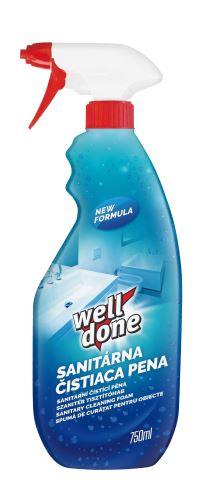 Sanitární čistící pěna 750ml Welldone