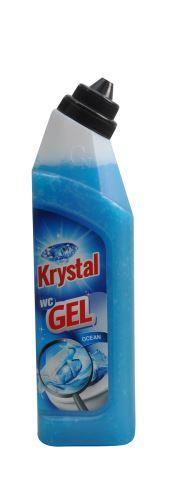 Krystal WC gel modrý 750ml