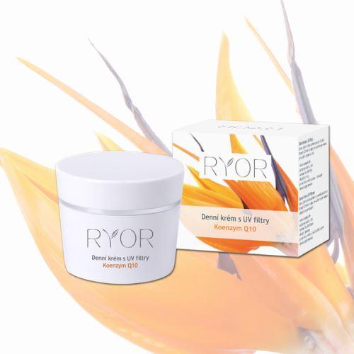 RYOR Denní krém s UV filtry a Q10 50ml kelímek