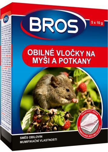 Bros obilné vločky na myši,krysy a potkany 100g (1629)