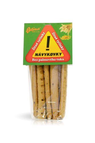 trvanlivé tyčinky žitné 100g Návykovky
