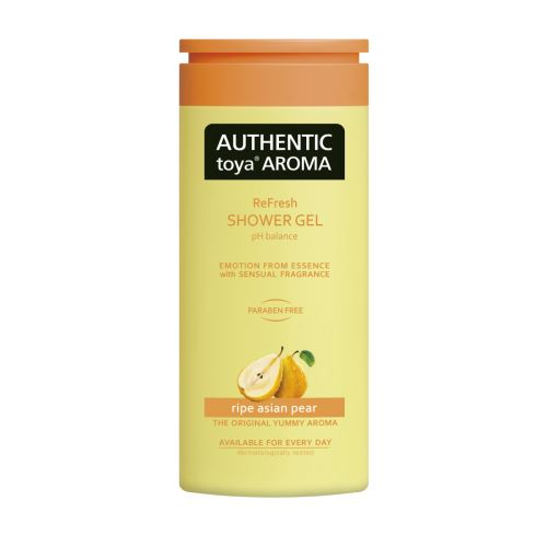 AUTHENTIC toya AROMA – sprchový gel ripe asian pear 400ml
