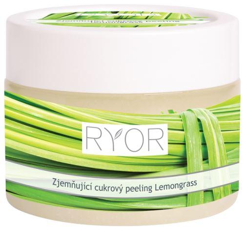 RYOR zjemňující cukrový peeling Lemongrass 325g kelímek
