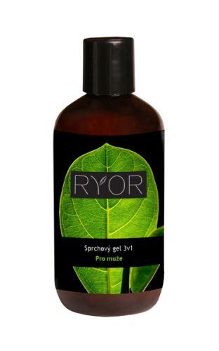 RYOR Sprchový gel 3v1 pro muže 250ml flakon