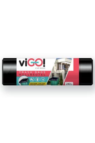 viGO! LD 240 l 10ks 116x150cm 48my černý Q004