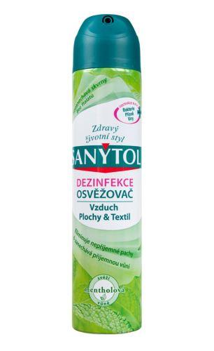 Sanytol dezinfekční osvěžovač vzduchu - mentolová vůně 300ml