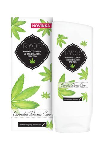 RYOR Konopný šampon se zklidňujícím efektem 200 ml